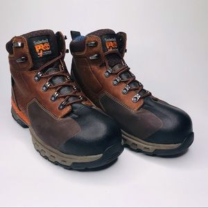 Timberland Pro Waterproof Ankle High Boots Size:10